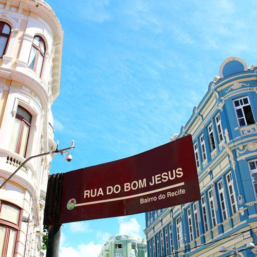 Conheça a Rua do Bom Jesus no Recife Antigo