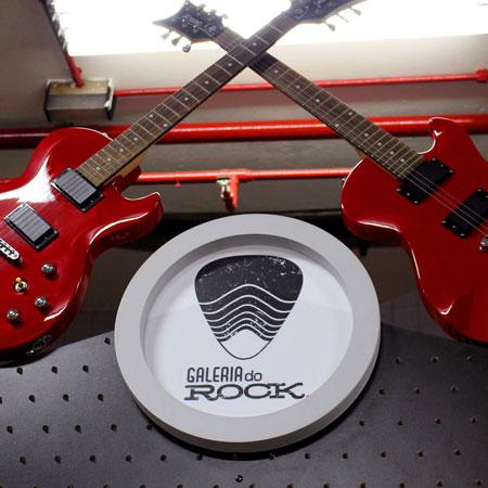 Visita guiada na Galeria do Rock em São Paulo