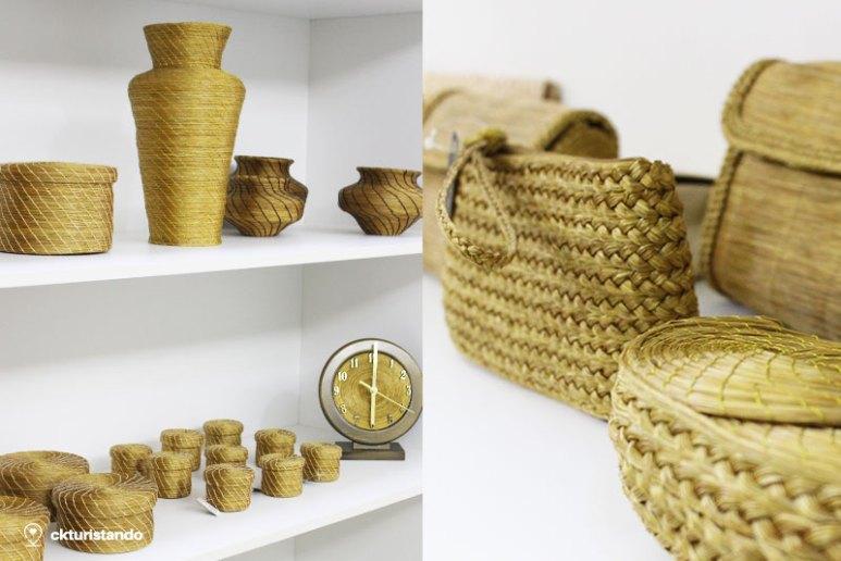 aa75d568b Na loja Capim e Arte você encontra a beleza do Capim Dourado em semi jóias  e artesanatos, o brilho da natureza em Águas de São Pedro.