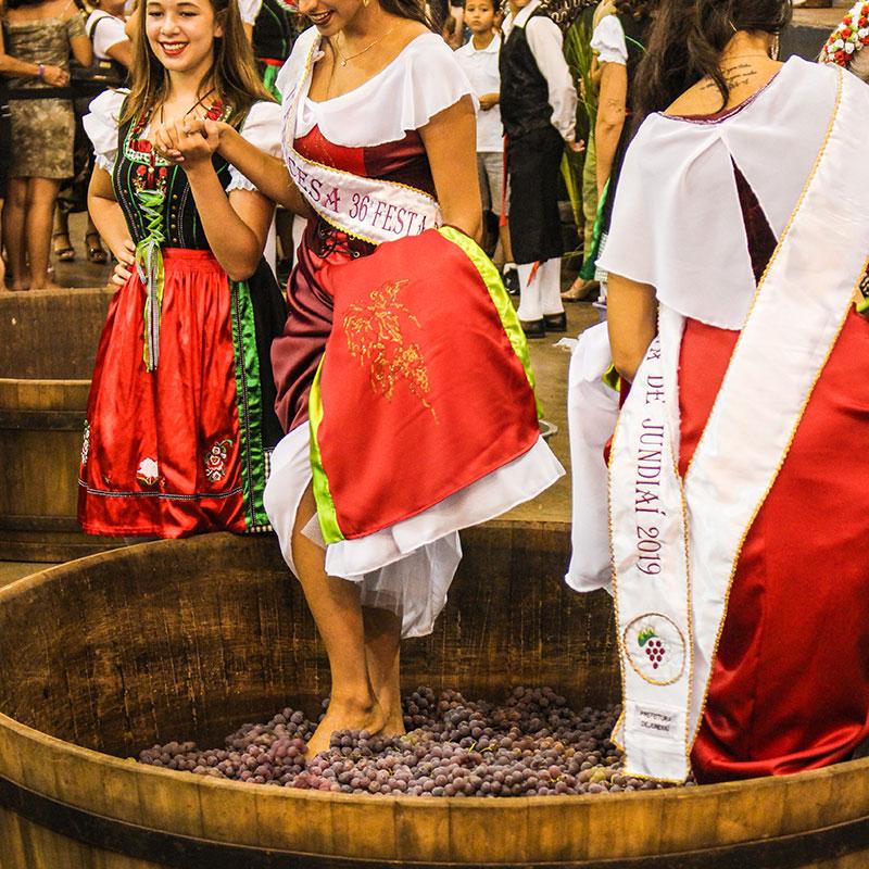 Visite a 36ª Festa da Uva em Jundiaí