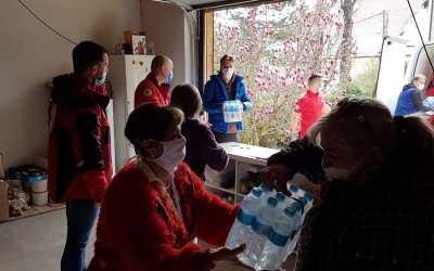 Donacija mjestima pogođenim potresom