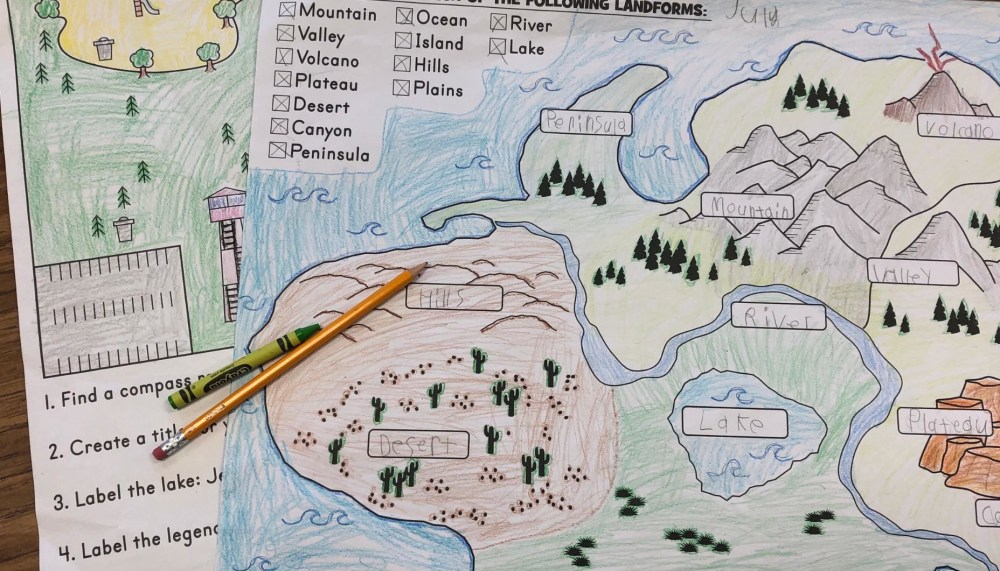 medium resolution of Project Based Learning with Landforms   Fun365