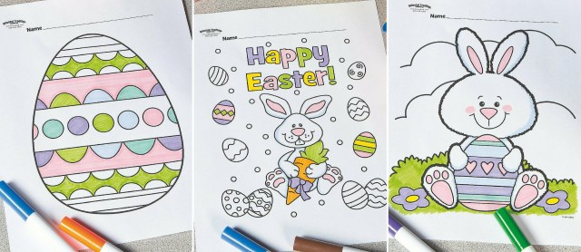Free Printable Easter Coloring Pages  Fun19