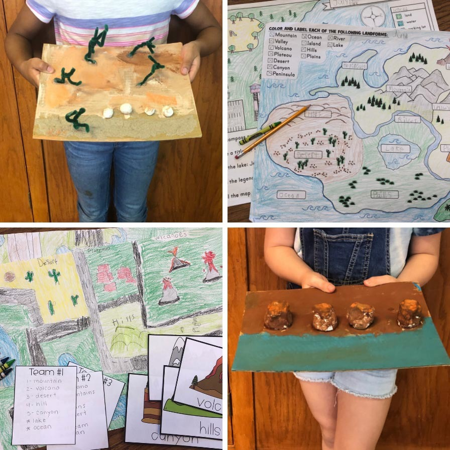 hight resolution of Project Based Learning with Landforms   Fun365