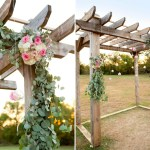 Diy Floral Wedding Pergola And Diy Eucalyptus Garland Fun365