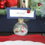Diy Winter Wedding Place Card Holder Fun365