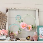 Floral Diy Embroidery Hoop Wreaths Fun365