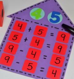 Teaching Math Fact Families   Fun365 [ 1371 x 1824 Pixel ]