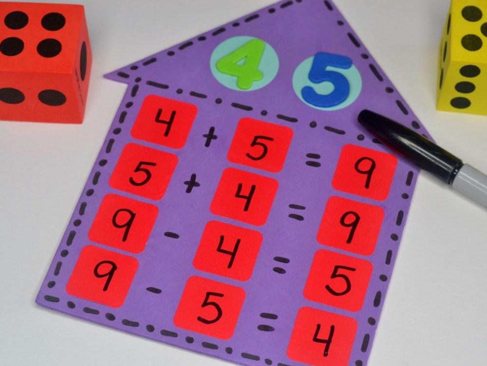 medium resolution of Teaching Math Fact Families   Fun365
