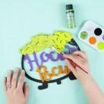 Hocus Pocus Halloween Wreath Idea Fun365