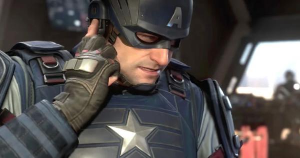 Mira al Capitán América en acción en Marvel's Avengers
