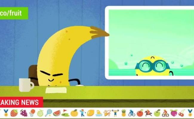 2016 Doodle Fruit Games Lemon Swimming Videos Metatube