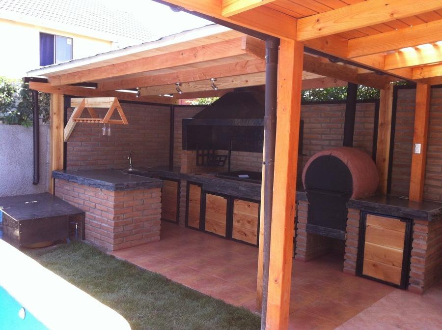 Piscina y Quincho  Ideas Construccin Casa
