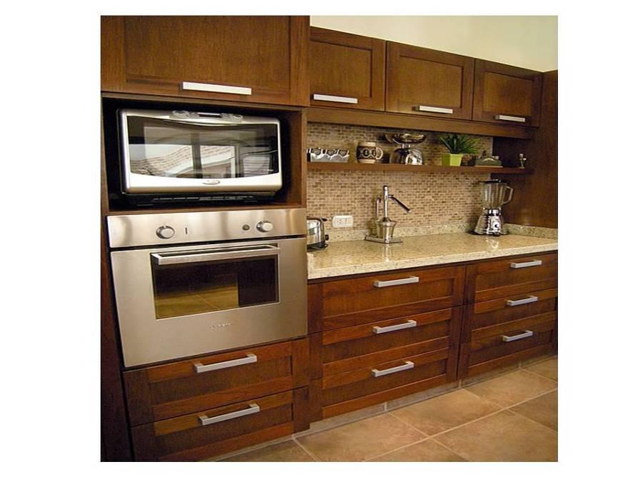 Foto Mueble de Cocina Mueble Porta Horno y Microonda de