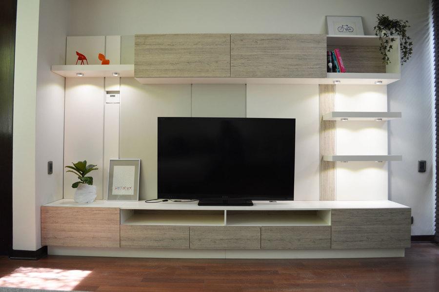 Foto Mueble para Sala de Tv de Nueve Design Studio