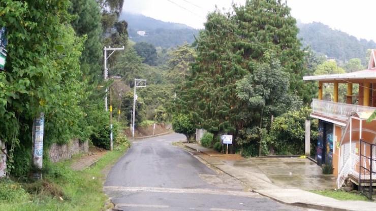 camino a Hueyapan