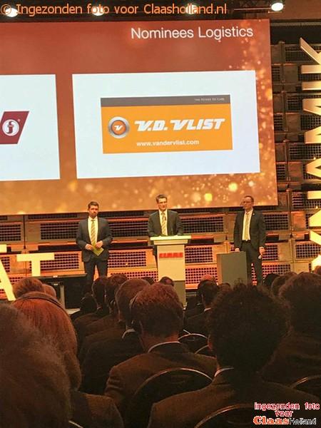 Van der Vlist Rijssen wint een prijs bij Claas