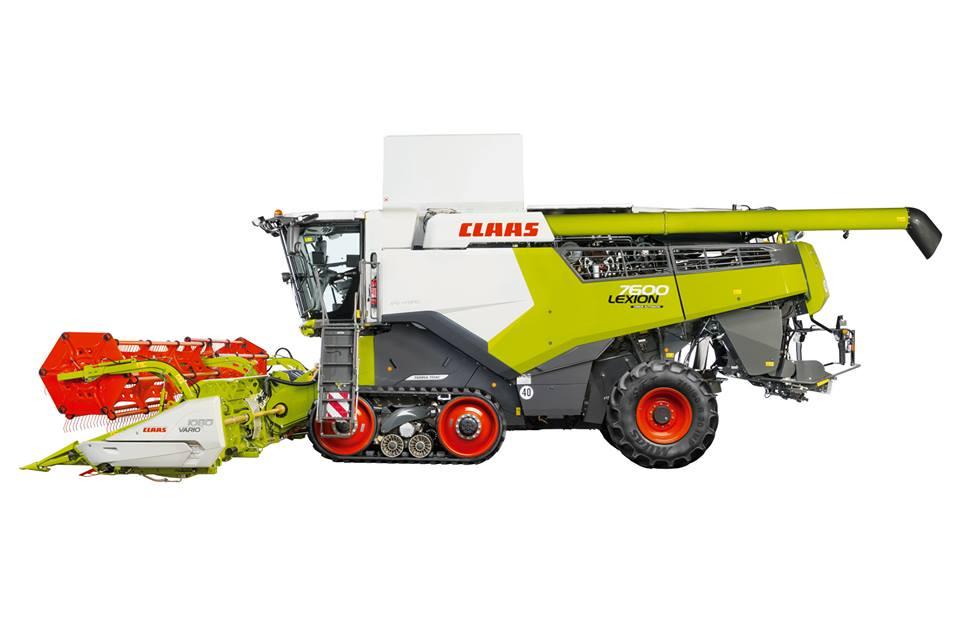 LEXION 8000 en 7000: nieuwe krachtige maaidorsers met maximaal 790 pk.