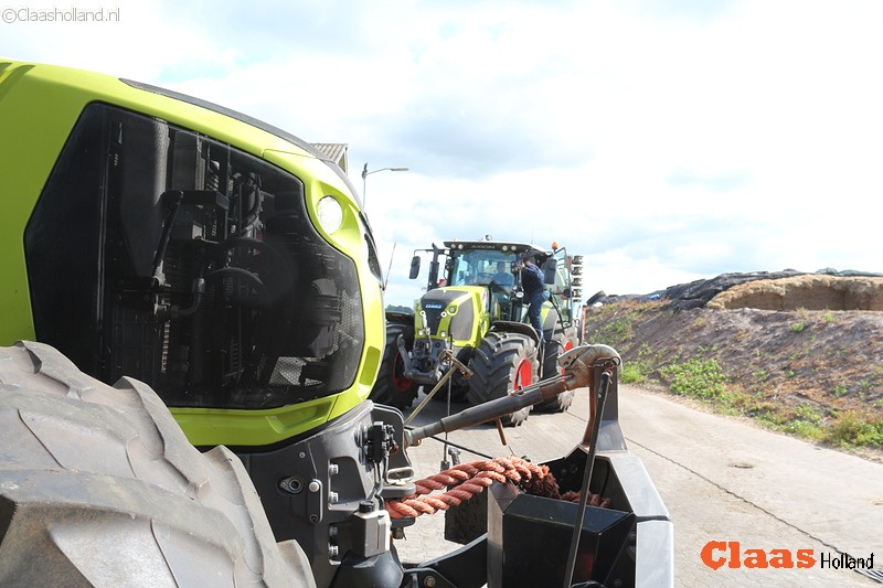 Kaweco demo combinatie met een Claas Axion 870 Cmatic.