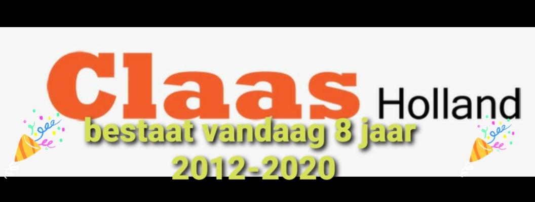 8 jaar Claas Holland.