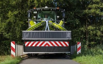 Nieuwe ORBIS 900 met 3m transportbreedte en automatische transportbeveiliging.