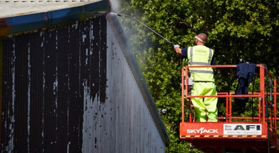 External Cladding Cleaning Onsite