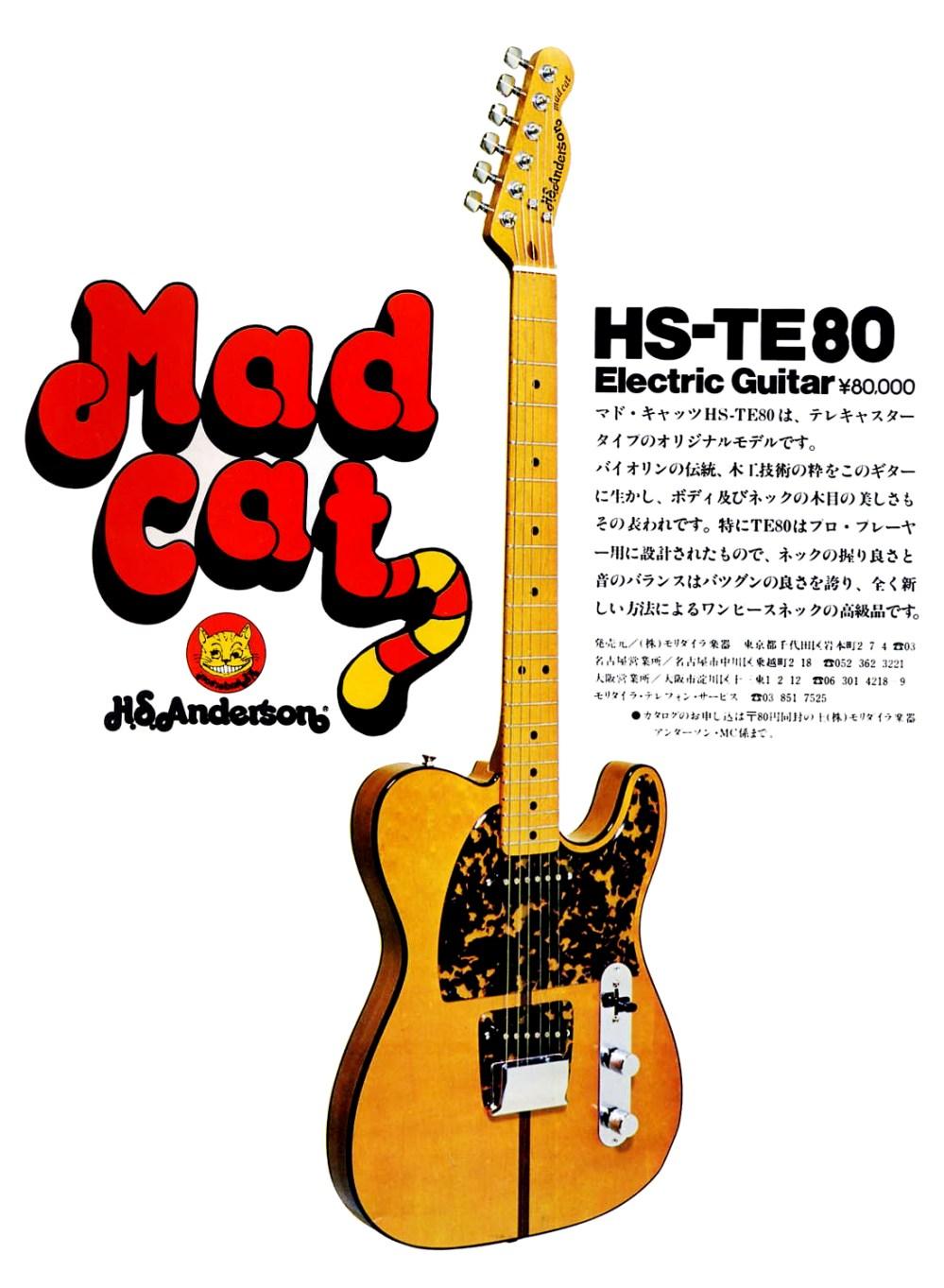 medium resolution of h s anderson mad cat