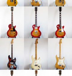 japanese guitars mij made in japan [ 1800 x 3195 Pixel ]