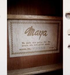 maya f335g made in japan 1970 s [ 2250 x 1000 Pixel ]