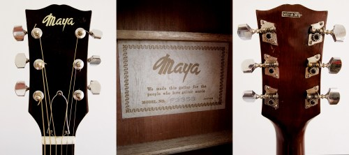 small resolution of  maya f335g made in japan 1970 s