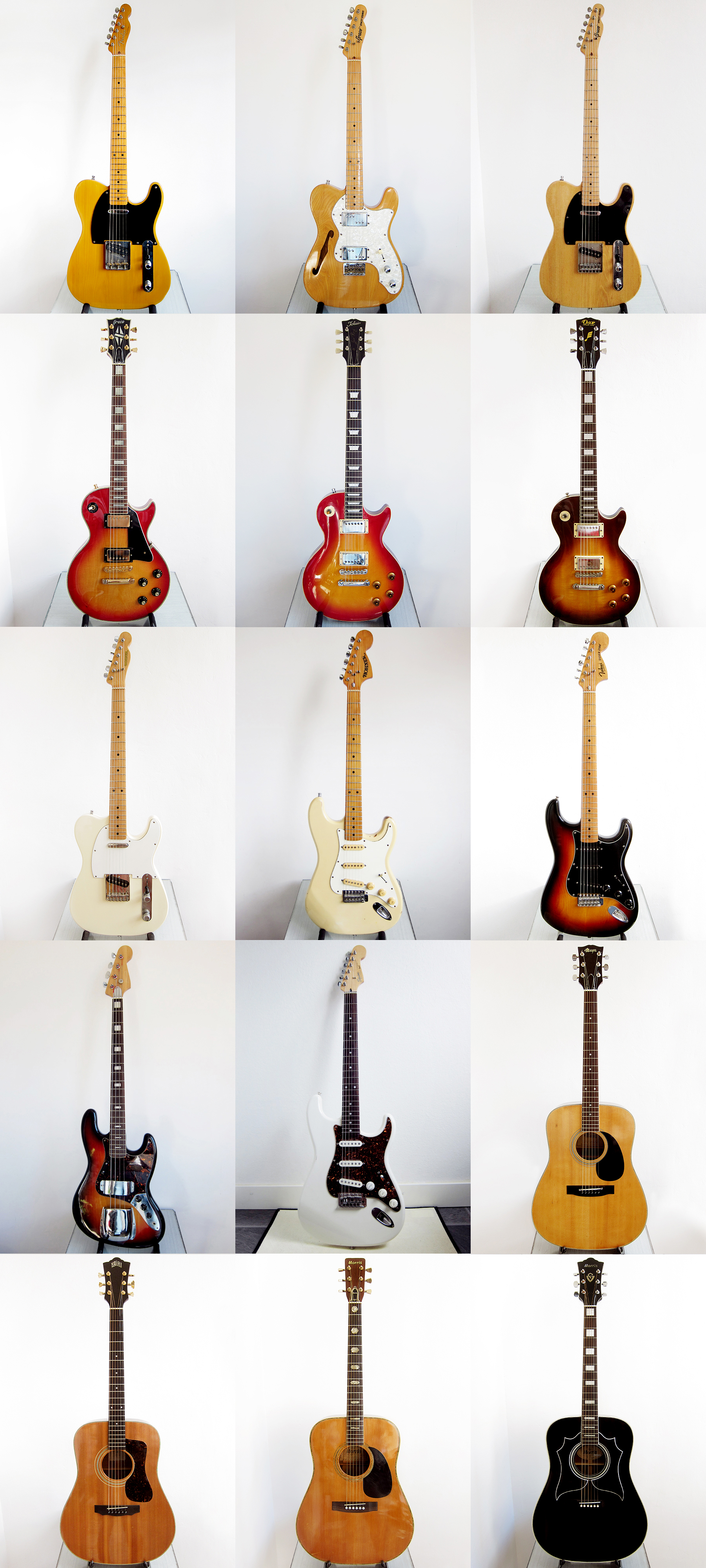 hight resolution of japanese guitars mij made in japan