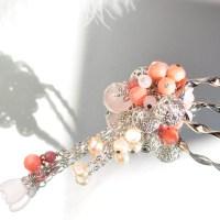 ~桜~ 珊瑚のかんざし