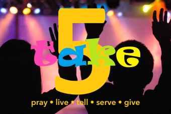 TAKE 5 Children's Ministry