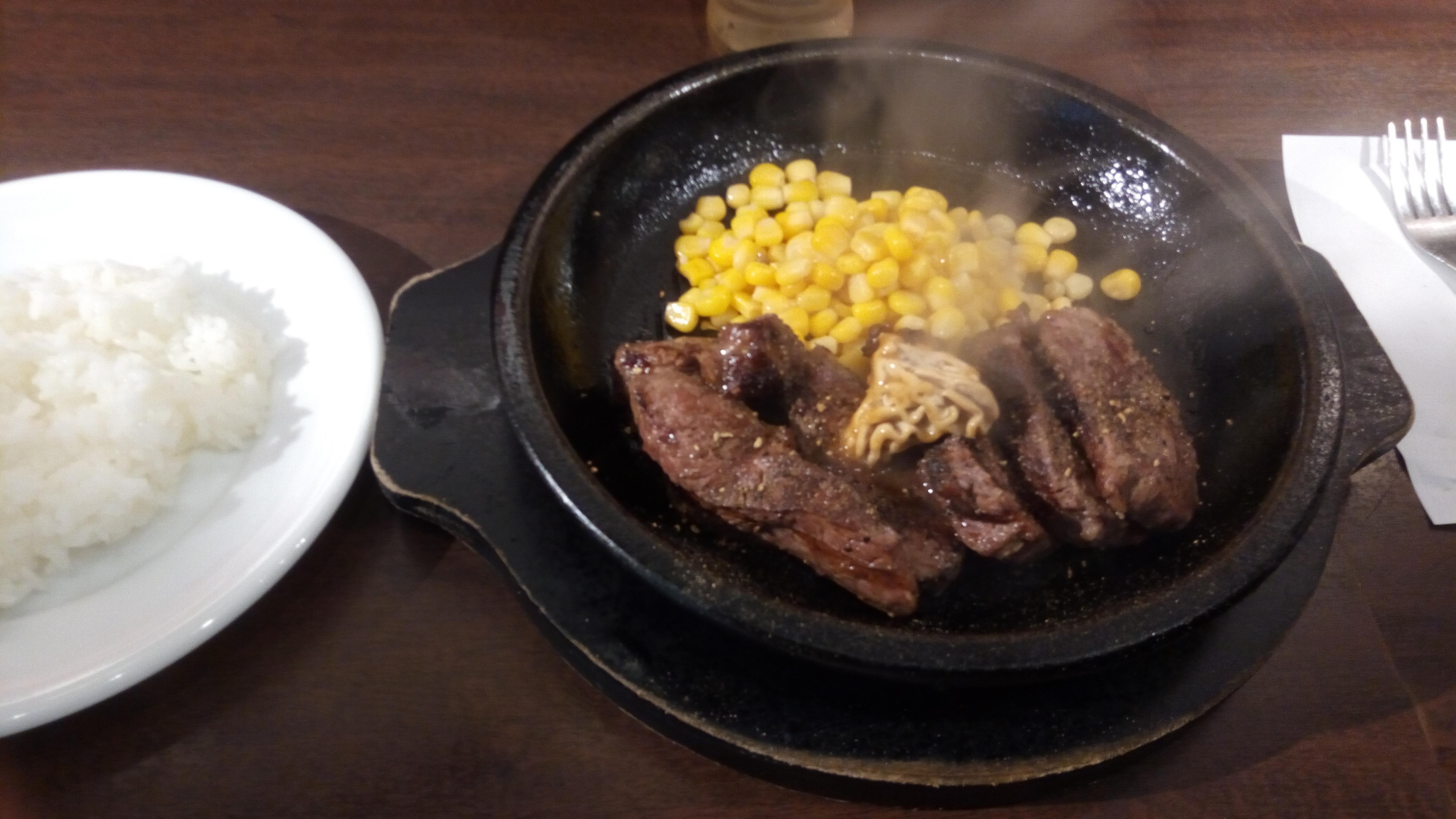 安くて美味しいお肉~「いきなりステーキ」