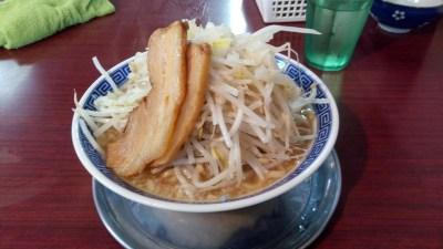 クセになりそうなゴワゴワ麺~柏「匠神 角ふじ」でふじ麺