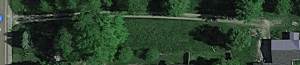 overhead view of my property