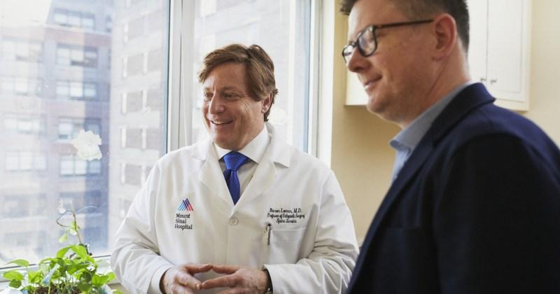 Man Next to Doctor