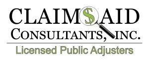 Claims Aid Consultants are Florida Public Adjusters
