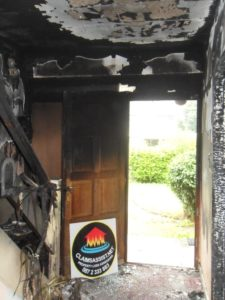 Household fire damage with water damaged fixtures within the property that Claims assist recorded and included in the final replacement works and costings | insurance loss assessors Dublin | insurance assessors Galway