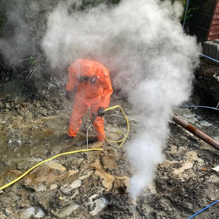 Treatment of an Oil Spill caused by Trespass & Nuisance