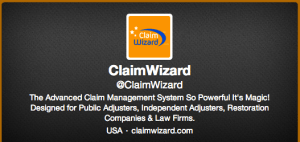 ClaimWizard Twitter Account