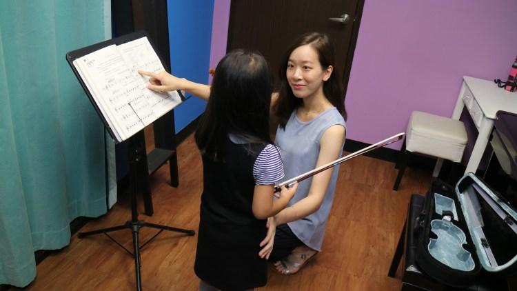 敏青老師─小提琴課