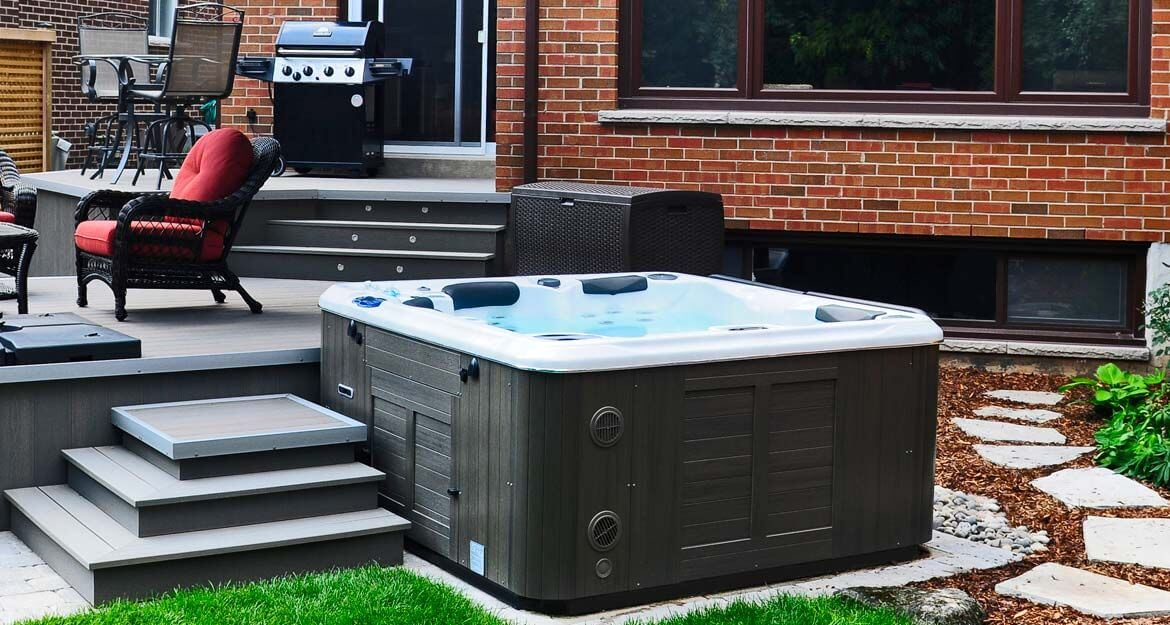 spa jacuzzi 5 places infinity h570