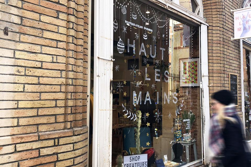 Favoriser les boutiques de créateurs locaux