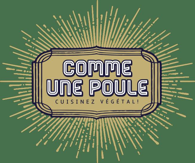 Logo Comme une poule, cours de cuisine végétale à Toulouse