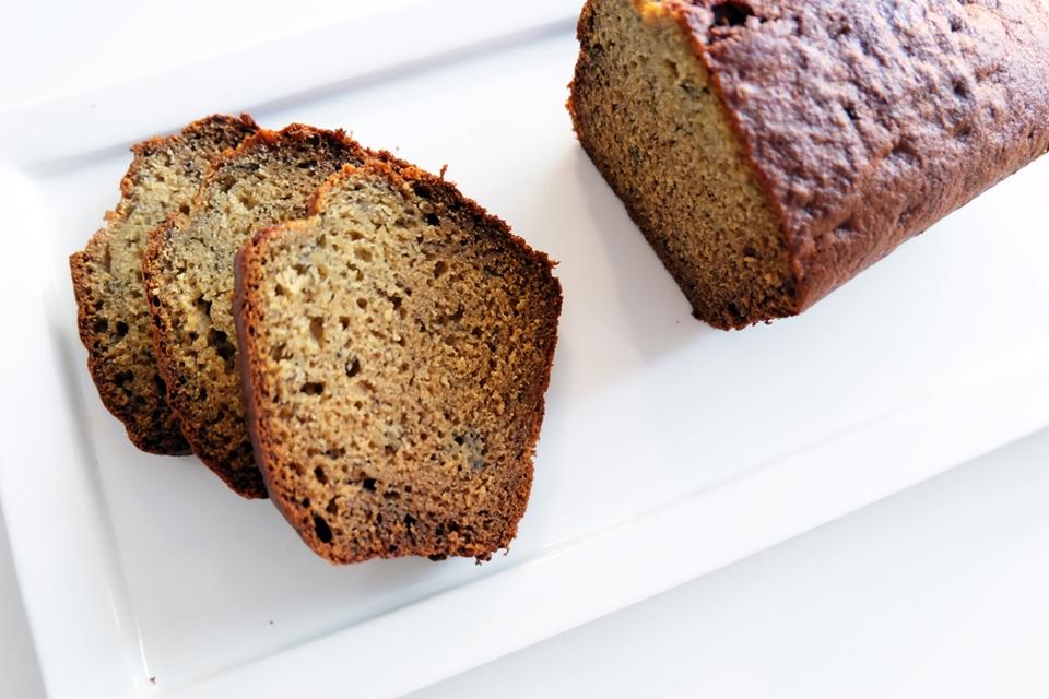 Un gâteau maison et facile à faire : le banana bread