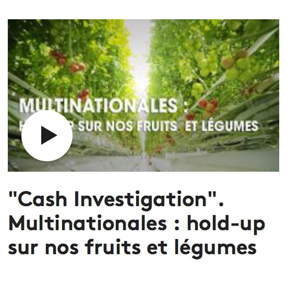 Cash Investigation Hold Up sur les légules