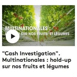 Cash Investigation Hold Up sur les légules