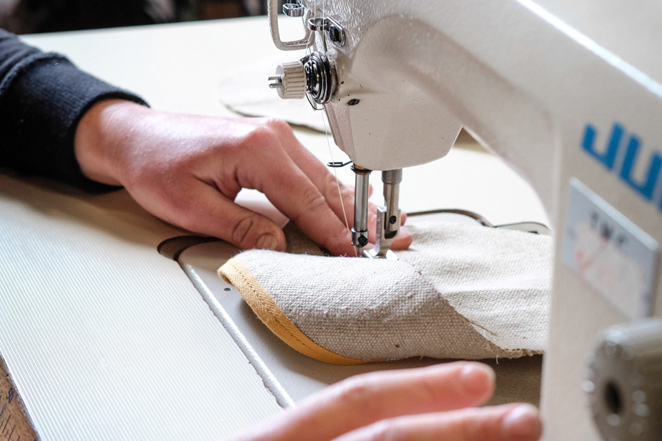 Les espadrilles made in France à la couture