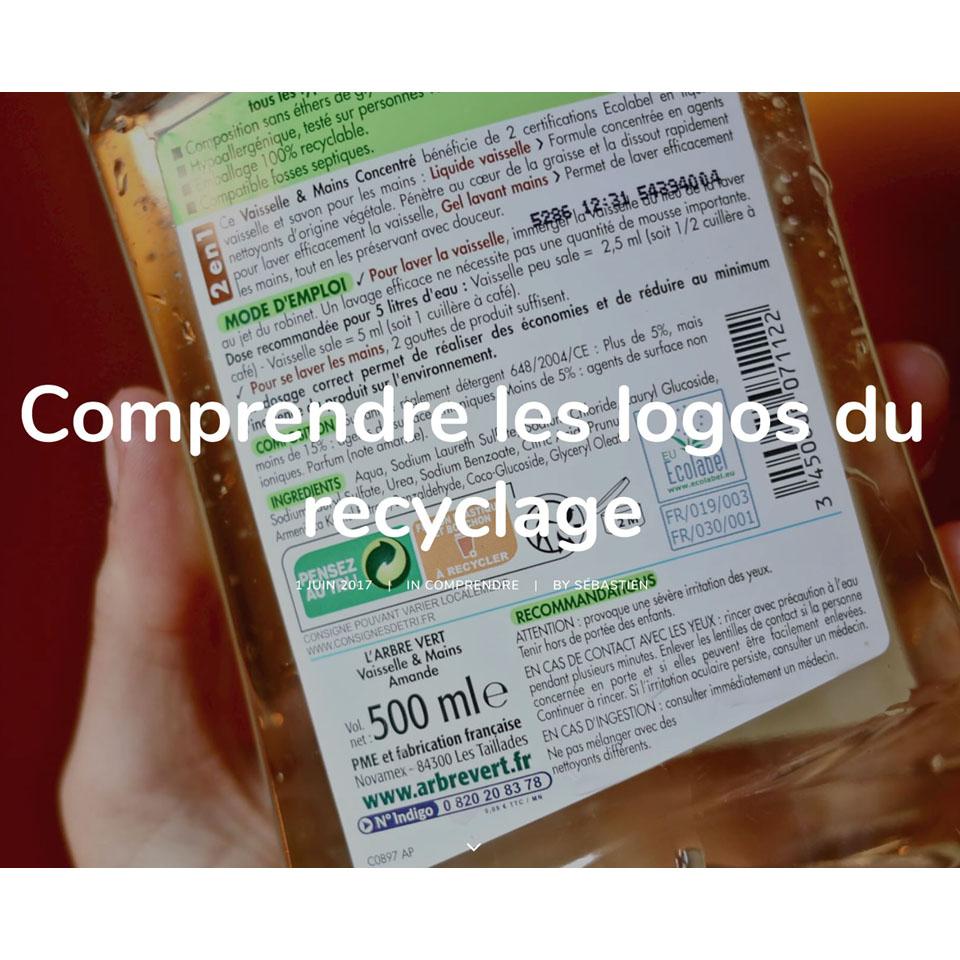 Comprendre les logos du recyclage